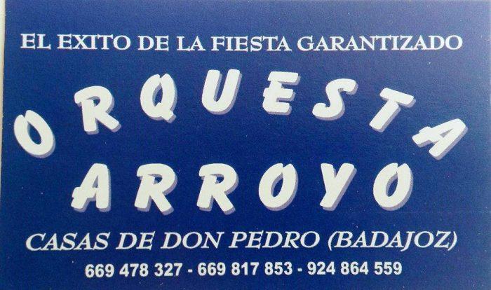 Actuaci n orquesta arroyo en casas de don pedro badajoz andr s l zaro - Casas de don pedro badajoz ...